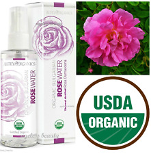 Rose Water Pure Organic Bulgarian Rosa Flower USDA CERTIFIED Natural Spray 100ml