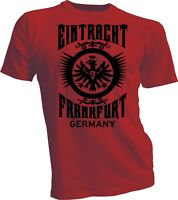 Eintracht Frankfurt Germany UEFA Bundesliga Football Soccer T shirt SGE Adler