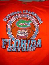 National Champions Florida Gators 2006 NCAA Men's Basketball  T-Shirt Size Med