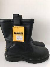 Dewalt Work Boots Steel Toe Black Size Uk 12 Dewalt Defender Boots