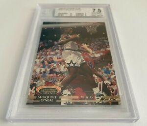 1992-93 Stadium Club #247 Shaquille O'Neal Card BGS 7.5 Near Mint - Centering 10