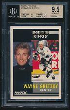 1991-92 Pinnacle #100 Wayne Gretzky BGS 9.5