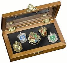 Harry Potter - Hogwarts Pin Sammlung Im Falle Neu & Offiziell Warner Bros
