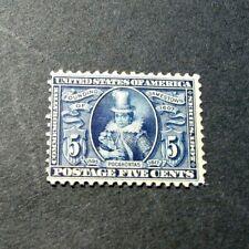 US Stamps Scott#  330 Pocahontas 1907  MH W6