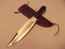 Custom Laramie Wyoming Coffin Handle Fat Western Style Bowie Hunting Knife
