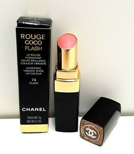 CHANEL Rouge Coco Flash Hydrating Lipstick 3g - DOMINANT 106. BRAND NEW IN BOX.