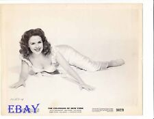 Mala Powers busty barefoot  VINTAGE Photo Colossus of New York