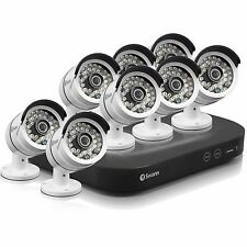 New Swann SWDVK-847508-US 8 Channel 3MP 2tb Security System NVR & 8x 3MP Cameras