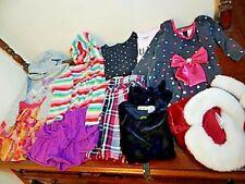 Girls Clothing Lot Carters Stripes Top Jacket Skirts Gap Kids Polka Dot Dress 6