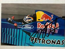 Heinz-Harald Frentzen - Formel 1 - original Autogramm  - Größe 15 x 10 cm