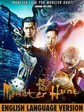 MONSTER HUNT (ENGLISH LANGUAGE VERSION) - DVD - Region Free - Sealed