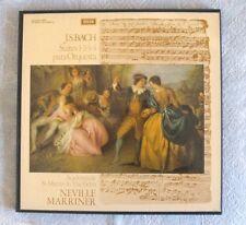 J.S.BACH - Suites para Orquesta - Neville Marriner - 2 LP's