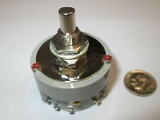 JANCO   SP-15 POSITION ENCLOSED ROTARY SWITCH  5 Amp 115 VAC   NOS 1 PC.