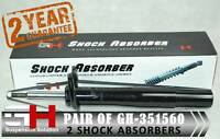 2 FRONT SHOCK ABSORBERS FOR BMW SERIES 5 (E60)/TOURING (E61)/GH-351560K