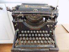 Antique Underwood typewriter Steampunk