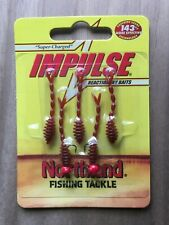 Northland Fishing Tackle - Impulse® Rigged Skeleton Minnow - Bloodworm Red