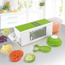 GOURMETmaxx Würfel-Küchenreibe Vierkantreibe Gemüseschneider Gemüsehobel Raspler