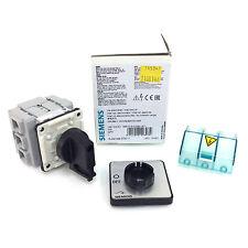 3 Pole Isolator Main switch 3LD2122-0TK11 Siemens 7.5kW 3LD21220TK11