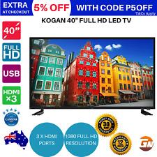 "Kogan 40"" Full 1080p HD LED TV (Series 7 GF7000) USB HDMI"