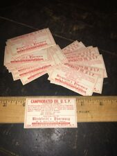 30 OLD PHARMACY-APOTHECARY-MEDICINE BOTTLE LABELS VINTAGE