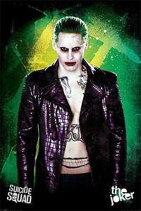 Suicide Squad The Joker Size 108 Poster 61 x 91.5cm