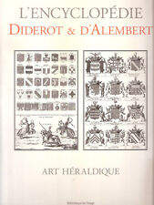 L'encyclopédie DIDEROT & D'ALAMBERT -Art Héraldique - Bibliotèque dell' image