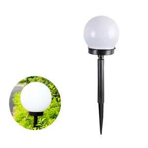 LAMPIONE SOLARE 1 LED GIARDINO 10 CM PICCHETTO LAMPADA GLOBO ESTERNI TE-B0164