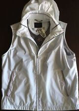 NEW Paul & Shark Yachting Jacket GILET Waistcoat size  L White