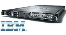 €978+IVA Server 1U IBM System x3550 2x Xeon 4C 2.83GHz/16GB/4x600GB SAS RAID5,6