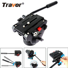 Video Fluid Drag Tripod Head Hydraulic Damping Monopod For Camera Photography