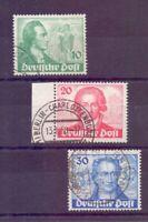 Berlin 1949 - Goethe - MiNr. 61/63 rund gestempelt - Michel 180,00 € (210)