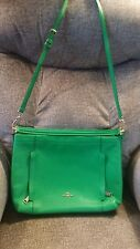 COACH LIME GREEN PEBBLE LEATHER HOBO PURSE, HANDBAG TOTE 71632 NWT