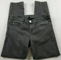 Kut from the Kloth Womens Jeans Sz 6 Skinny Ankle Mid Rise Gray Denim **