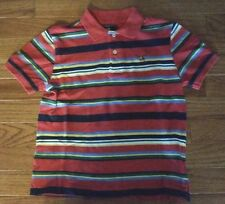American Living  Boys Multi-Color Striped Polo Size 7