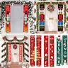 Nutcracker Soldier Banner Merry Christmas 2020 Xmas Door Ornament Home Decor