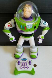 Buzz Lightyear Toy Story U Command Remote Control Thinkway Rare Excel. Cond HTF