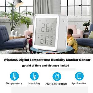 WiFi Smart Temperature Humidity Tester Digital Temperature Humidity Meter/ L3F8