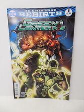 Rebirth Green Lantern DC Comic Book #1 Ring Fist Cover Humphries Rocha Leisten