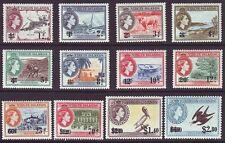 Virgin Islands 1962 SC 128-139 MNH Set