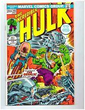 THE INCREDIBLE HULK #163 * HULK vs THE GREMLIN * 1973 * Marvel Comics * 9.4 NM