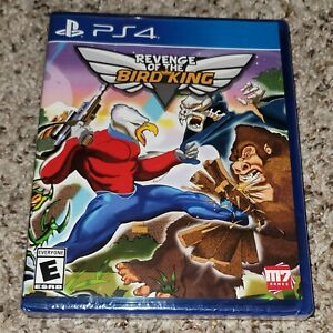 Revenge Of The Bird King RARE Limited Run Games PlayStation 4 PS4 Sealed In Hand