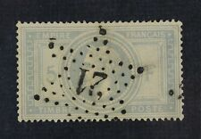 CKStamps: France Stamps Collection Scott#37 Used Tiny Thin