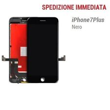 TOUCH SCREEN LCD DISPLAY RETINA PER APPLE IPHONE 7 PLUS VETRO SCHERMO NERO