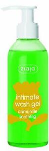 Ziaja Intimate Wash Gel Camomile – Flip top 200Ml OFFICIAL UK