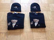 Polo Ralph Lauren Martini Tuxedo Bear Wool Sweater Pwing Ski92 Stadium Hi Tech