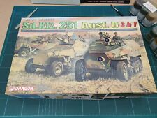 Dragon 6233  Sd.Kfz. 251 Ausf. D Half track (3 in 1 kit)