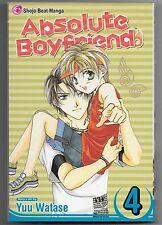 Absolute Boyfriend, Vol. 4 by Yuu Watase (2007, Paperback)