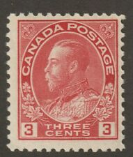 """Canada 1923 #109 King George V """"Admiral"""" Issue - MH Fine"""