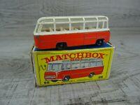 Matchbox Vintage 1960's Lesney No 68B Mercedes Coach Diecast Car Boxed