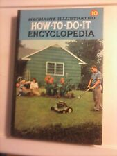 Mechanix Illustrated How To Do It Encyclopedia 1961 Volume 10 Hardcover GC